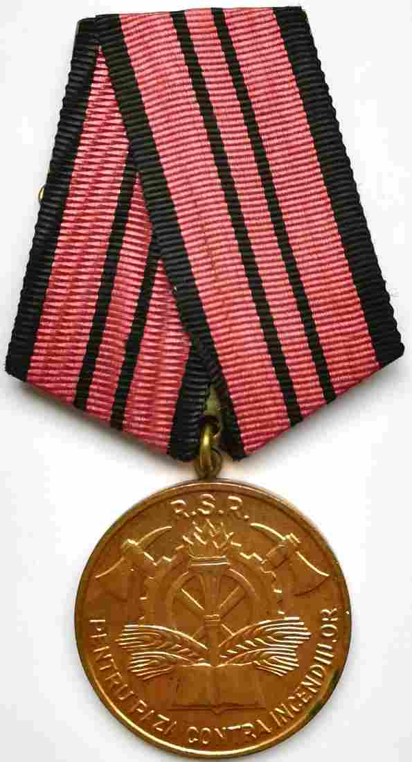 FIREMAN MEDAL, instituted in 1964