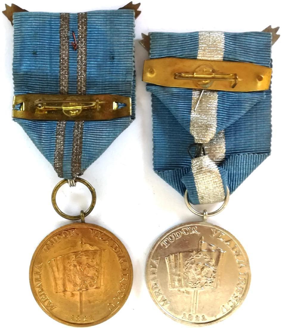 TUDOR VLADIMIRESCU MEDAL, instituted in 1966 - 2