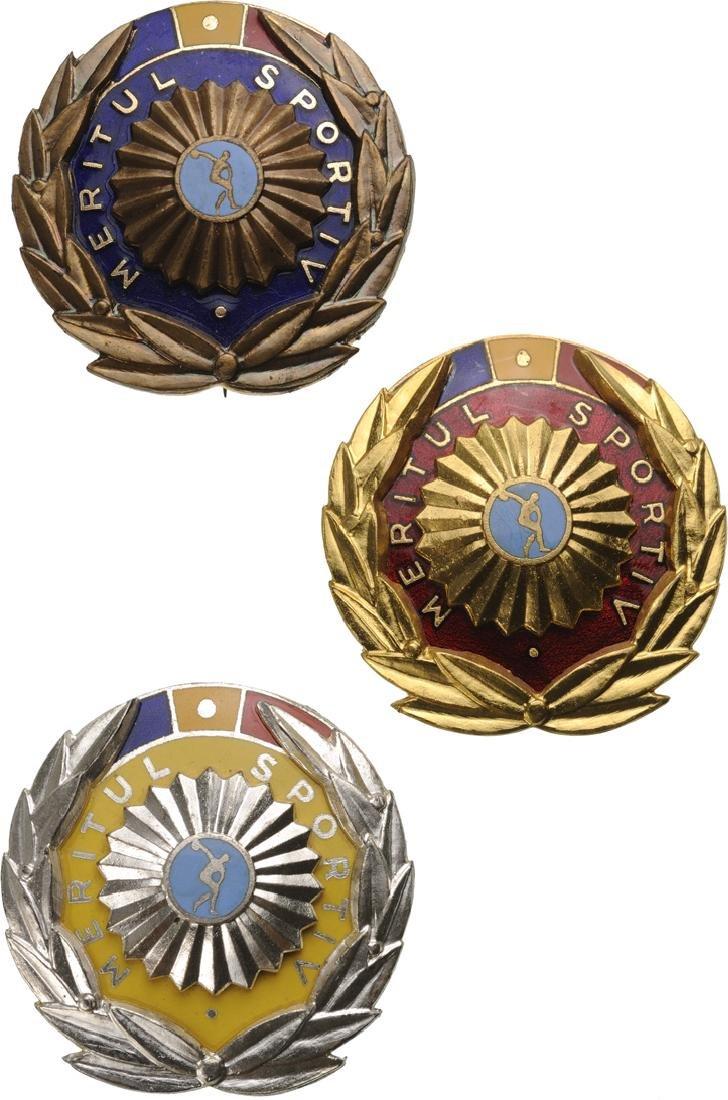 RSR - ORDER OF SPORT MERIT, instituted in  1966