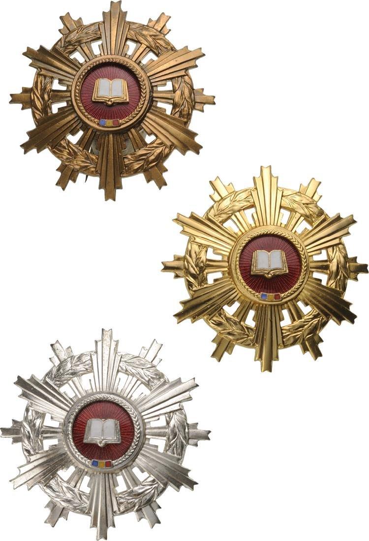 RSR - ORDER FOR SCIENTIFIC MERIT, instituted in 1966