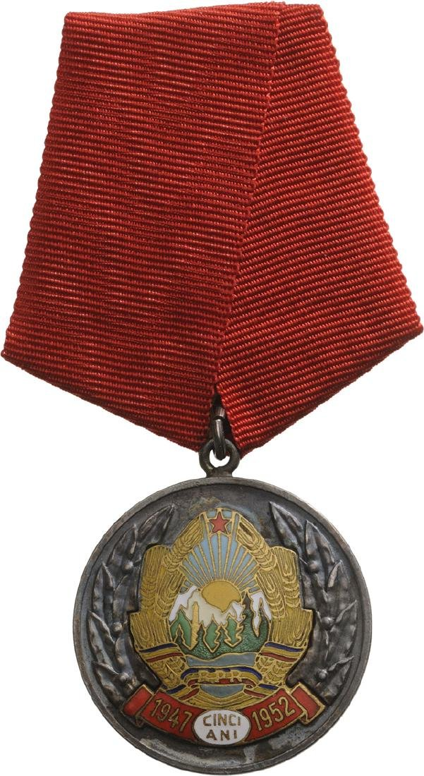 RPR - COMMEMORATIVE MEDAL OF THE 5th ANNIVERSARY OF THE - 3