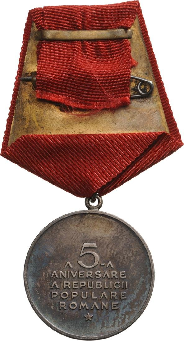 RPR - COMMEMORATIVE MEDAL OF THE 5th ANNIVERSARY OF THE - 4