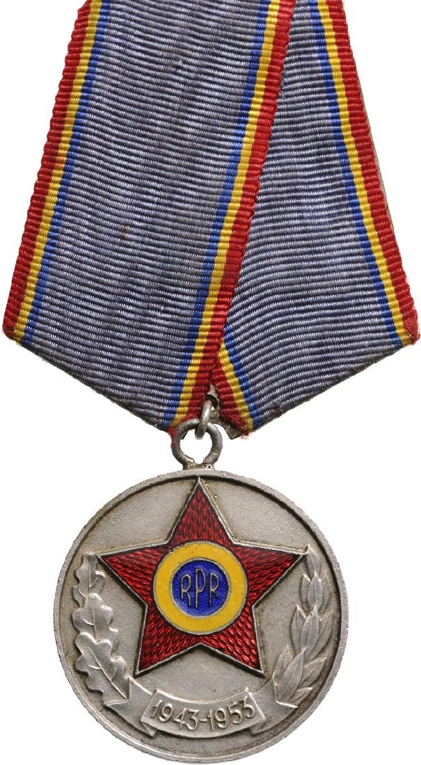 "RPR - MEDAL ""10 YEARS SINCE THE FORMATION OF THE FIRST"