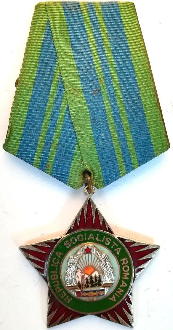 """RSR - Medal """"PROTECTOR OF THE FATHERLAND"""", instituted"""
