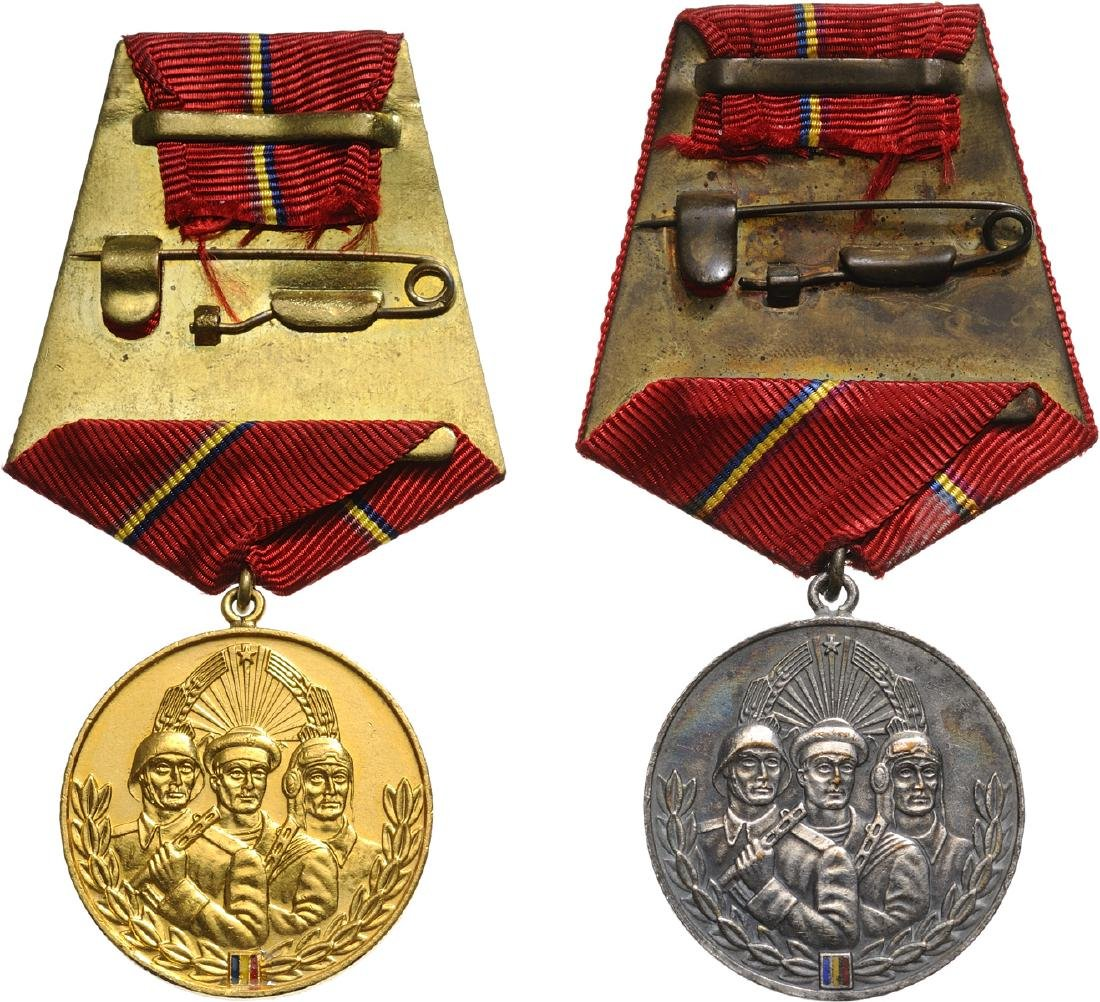 RSR - MEDAL FOR SOLDIER`S VIRTUE, instituted in 1959 - 2