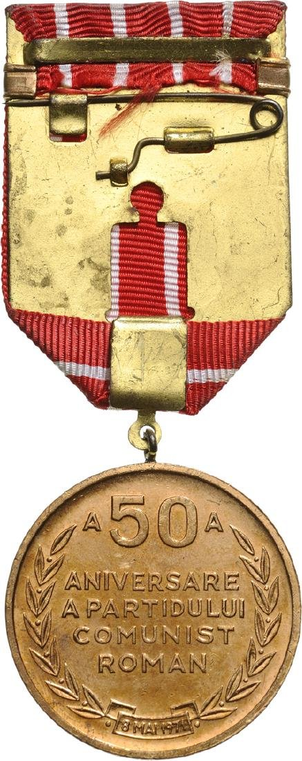 MEDAL FOR THE 50th ANNIVERSARY OF THE FOUNDATION OF THE - 2
