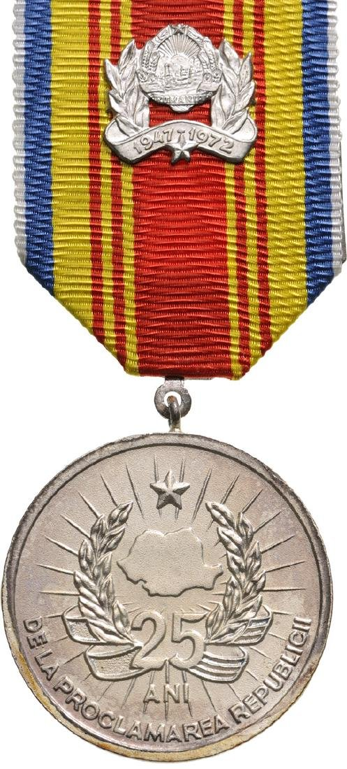 MEDAL OF THE 25th ANNIVERSARY OF THE REPUBLIC,