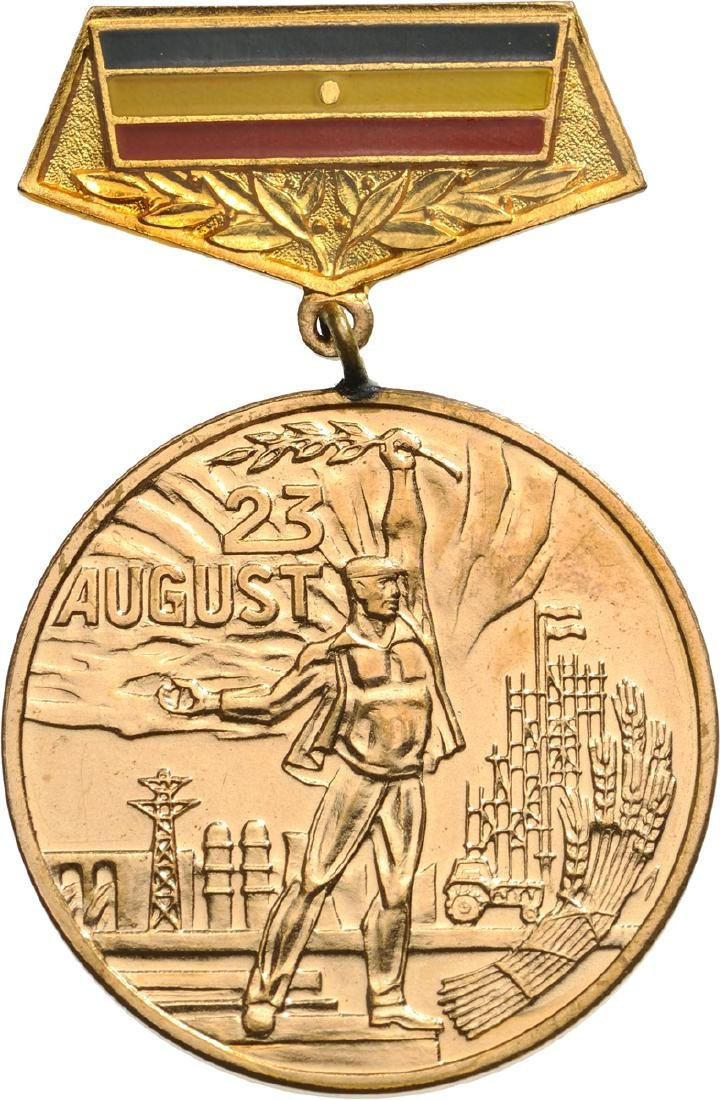 MEDAL FOR THE 40TH ANNIVERSARY OF THE LIBERATION FROM