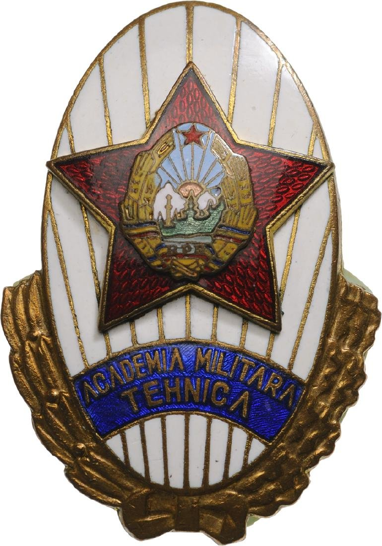 RPR - TECHNICAL MILITARY ACADEMY BADGE