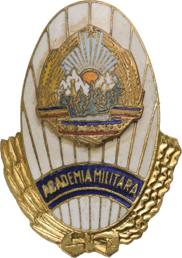 RPR - GENERAL MILITARY ACADEMY BADGE