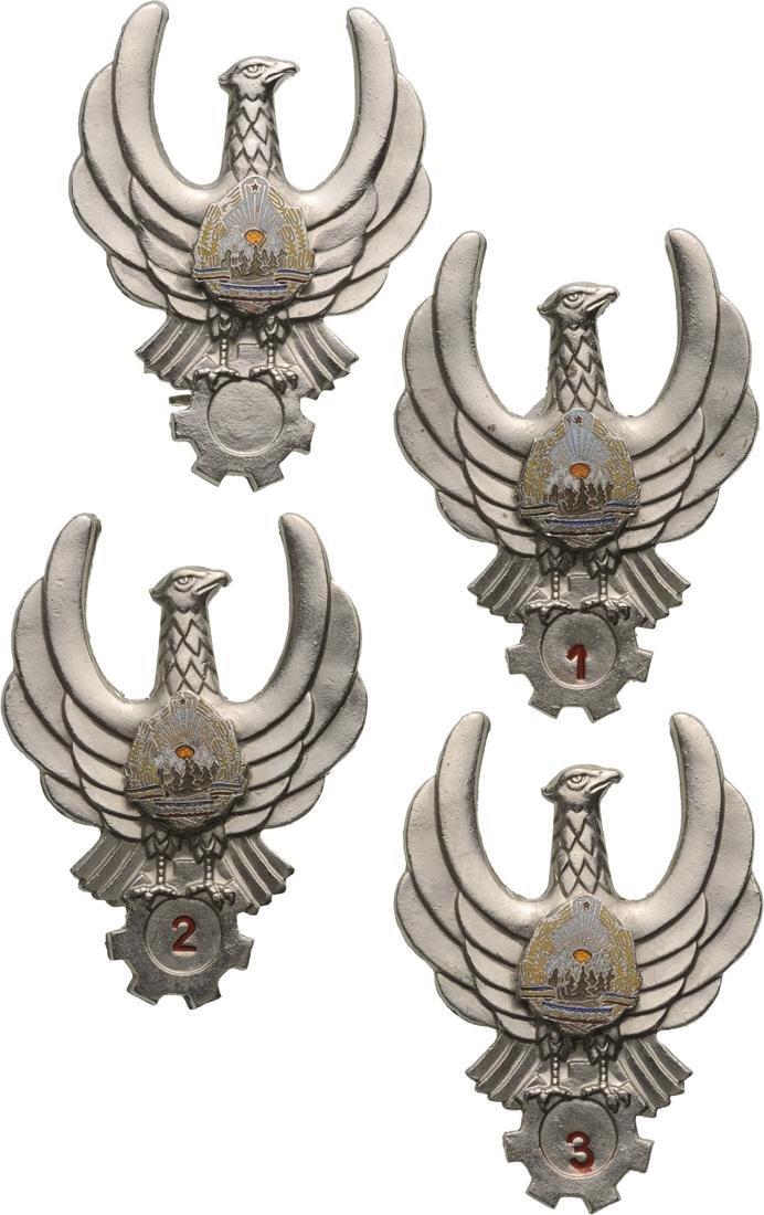 FLIGHT ENGINEER BADGES (1965-1989)