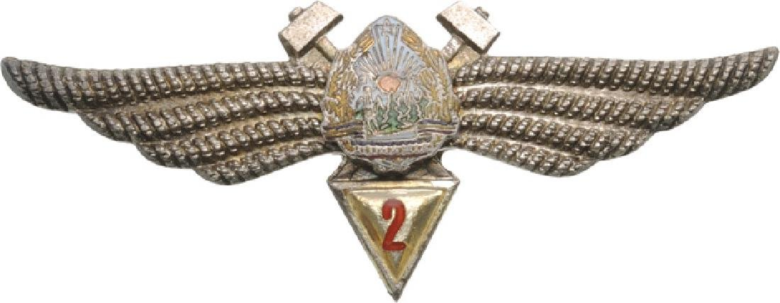 FLIGHT ENGINEER BADGES (1965-1989)