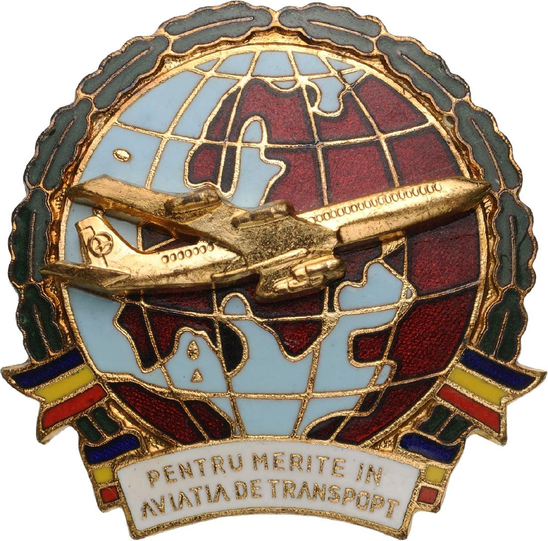 PILOT BADGE - MERIT FOR CIVIL AVIATION
