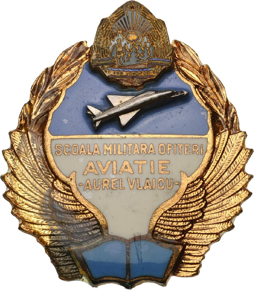 "MILITARY OFFICER`S AIR FORCE ACADEMY BADGE ""AUREL"