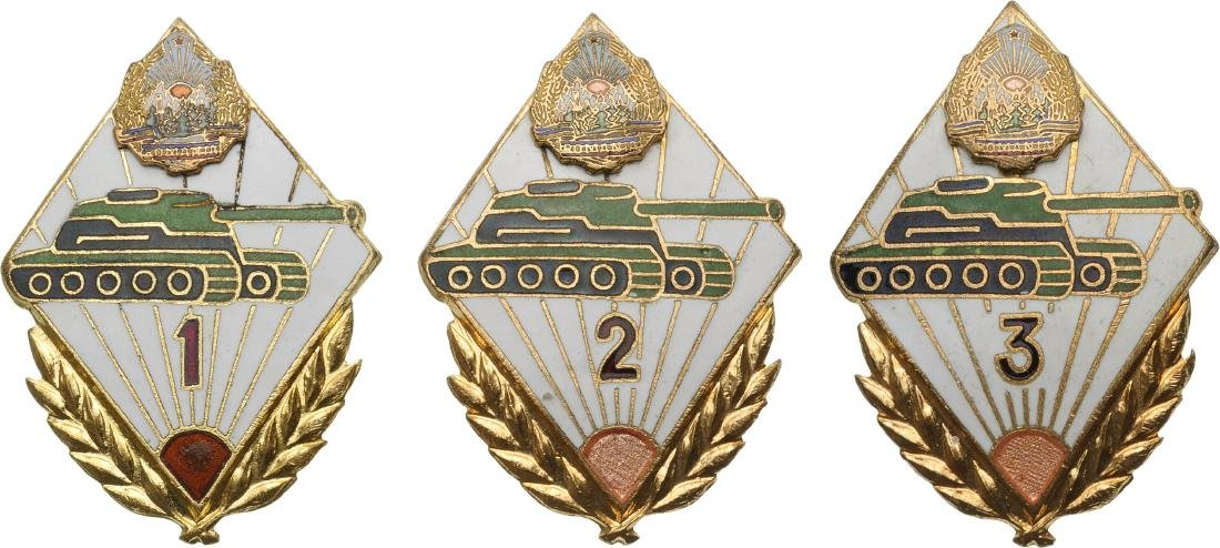 BADGE FOR TANK TROOPS