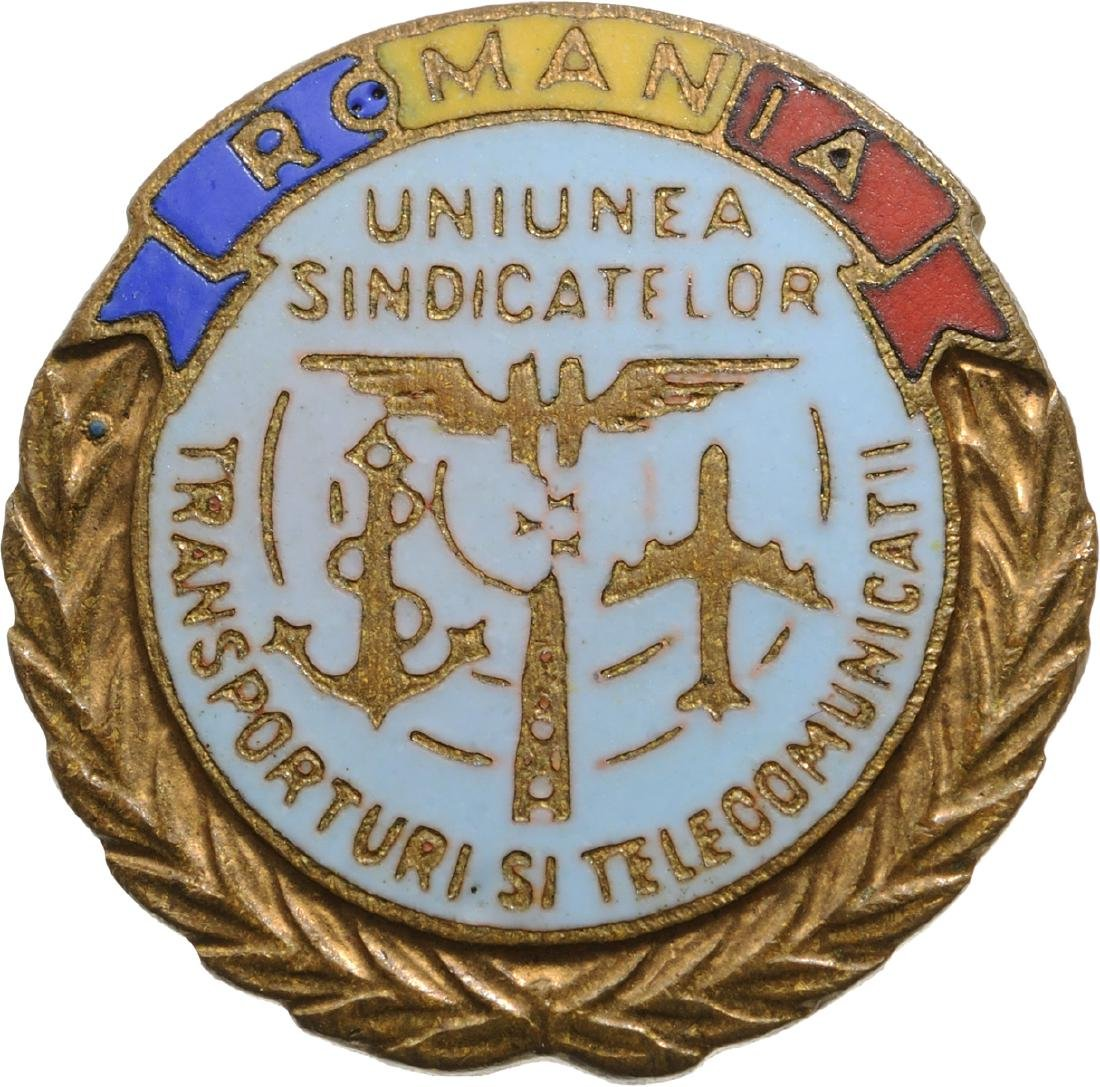 Union of Transports and Telecomunications Badge