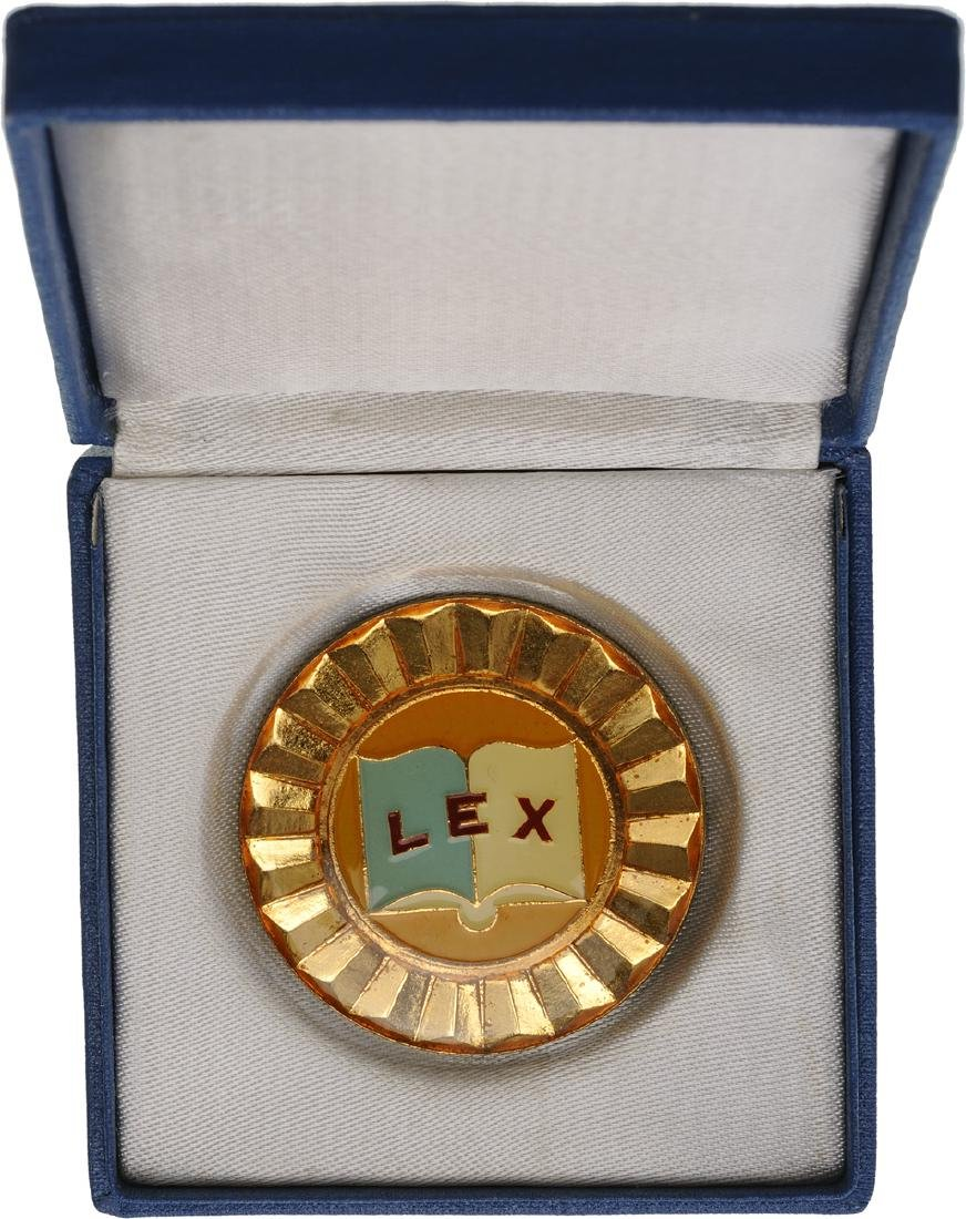 BADGE OF MAGISTRATE