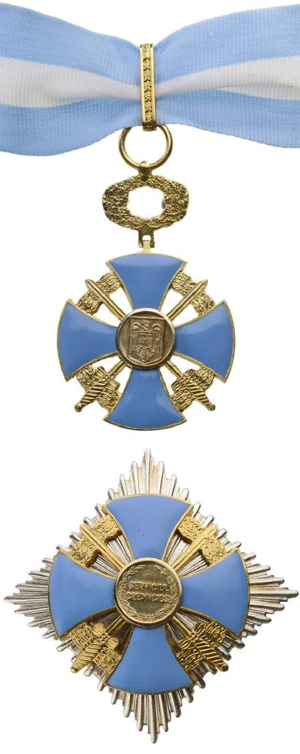 ORDER OF THE FAITHFULL SERVICE, 1935