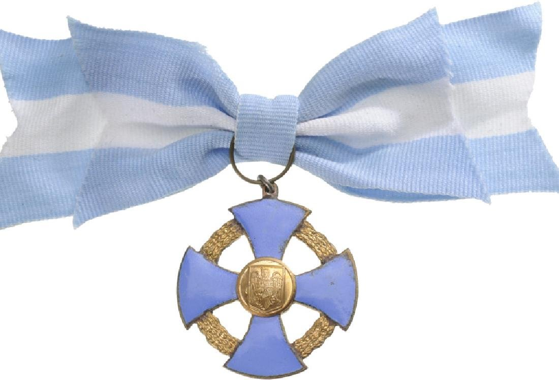 ORDER OF THE FAITHFULL SERVICE, 1935