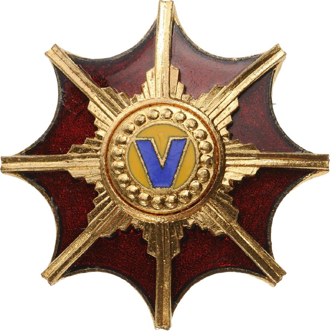 REPUBLIC - ORDER OF THE VICTORY OF THE ROMANIAN