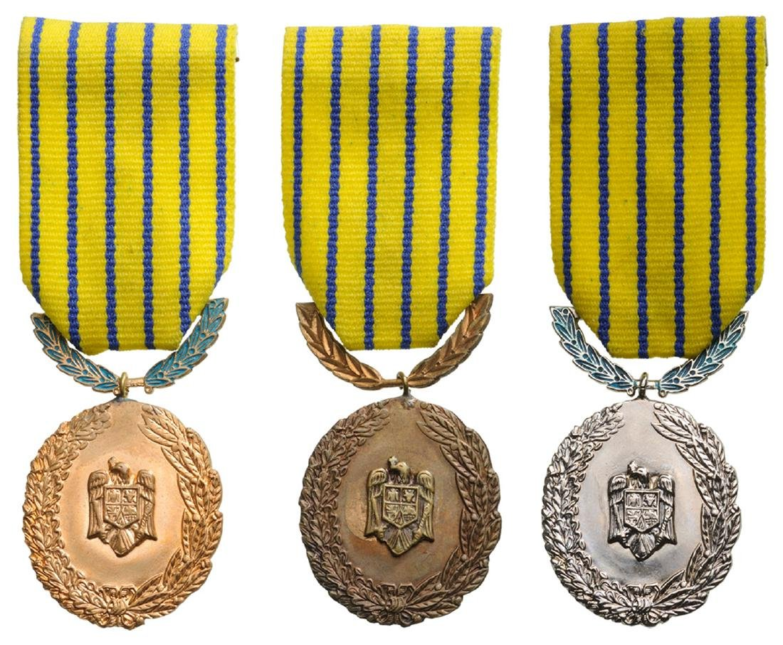 Medal of Reward of 25 Years in the Military Service