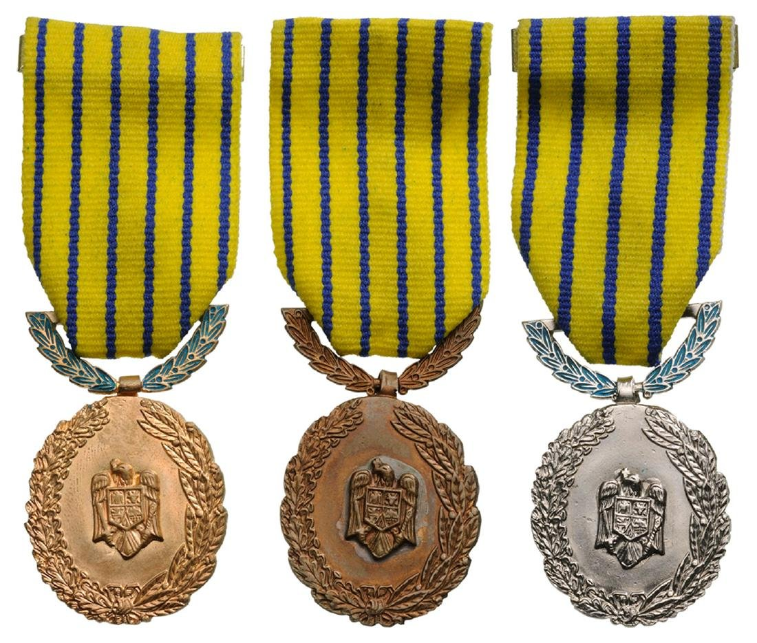 Medal of Reward of 20 Years in the Military Service