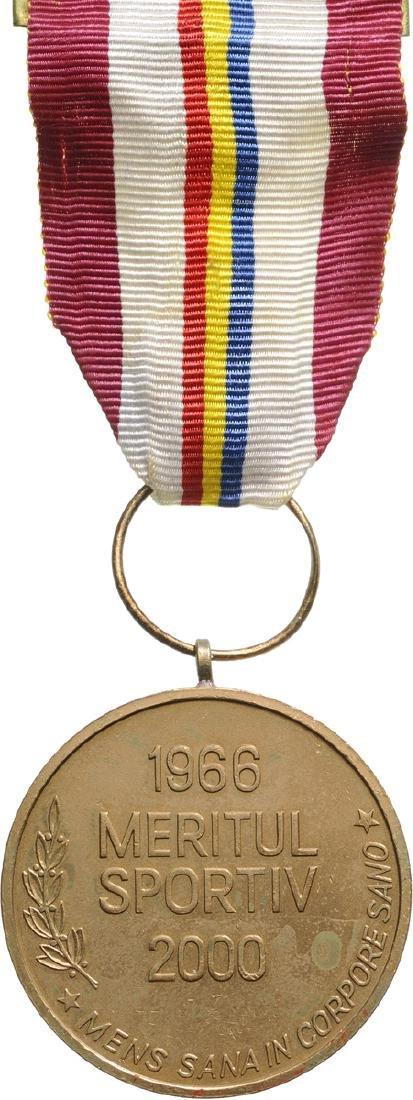 REPUBLIC - SPORTS MERIT MEDAL 2000