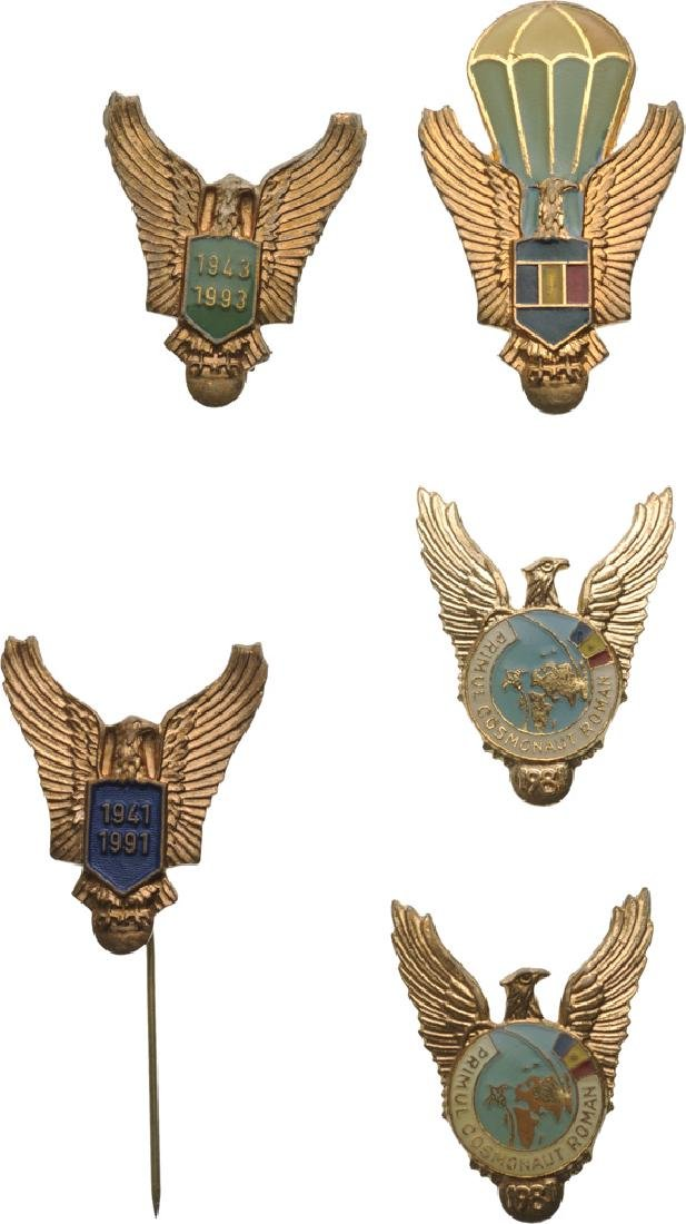 PILOT AND VARIOUS AIRFORCE BADGES