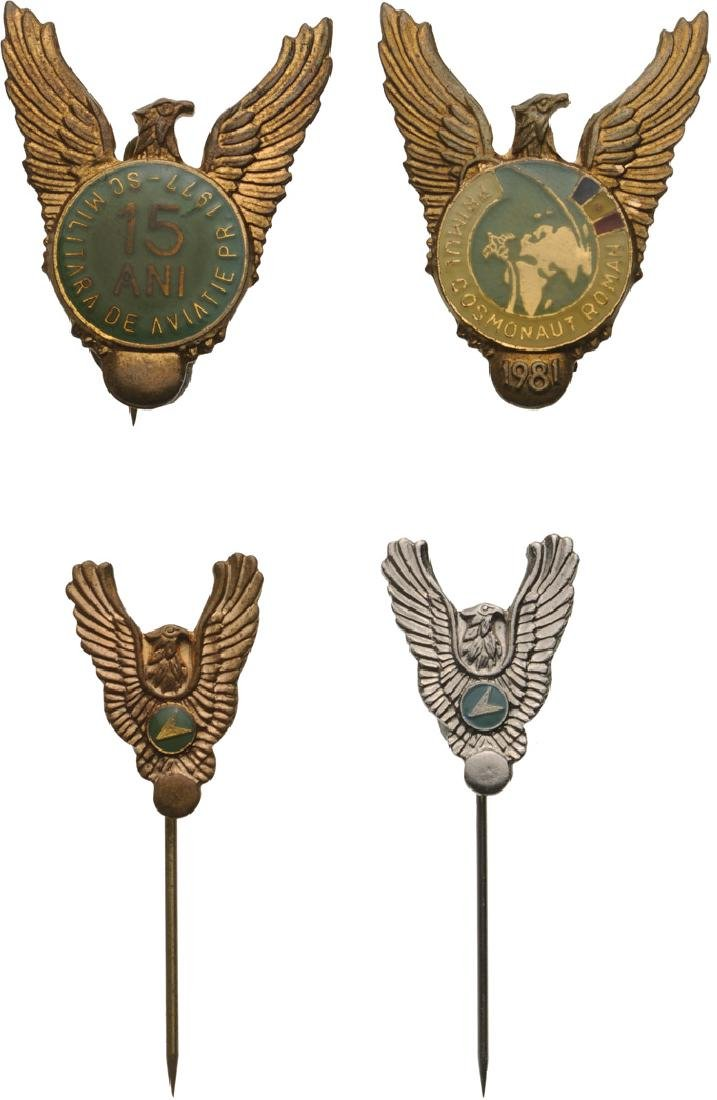 PILOT AND VARIOUS AIRFORCE BADGES - 2