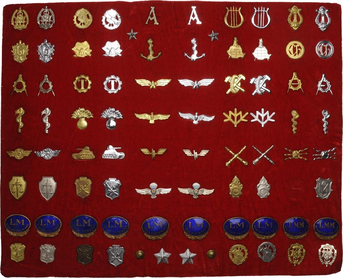 COLLECTION OF 83 AIRFORCE  AND VARIOUS MILITARY BADGES