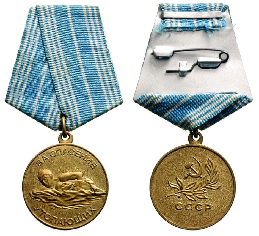 Life Saving from Drowning Medal, instituted in 1957