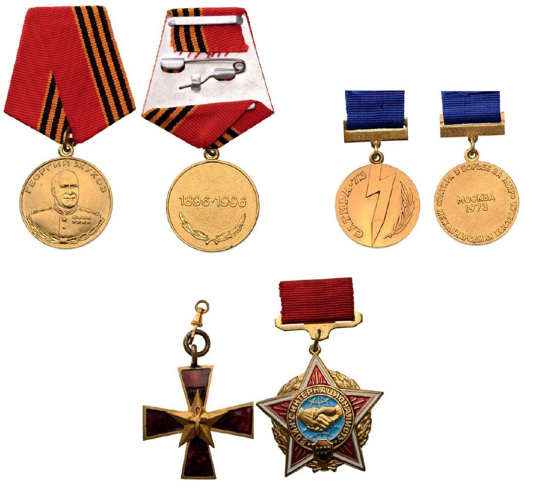 Group of 4 Medals