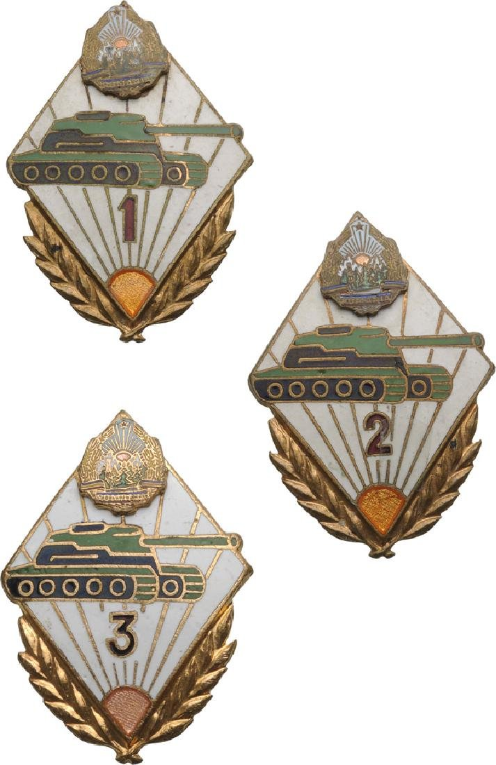 BADGE FOR CLASS SPECIALIST TANK TROOPS