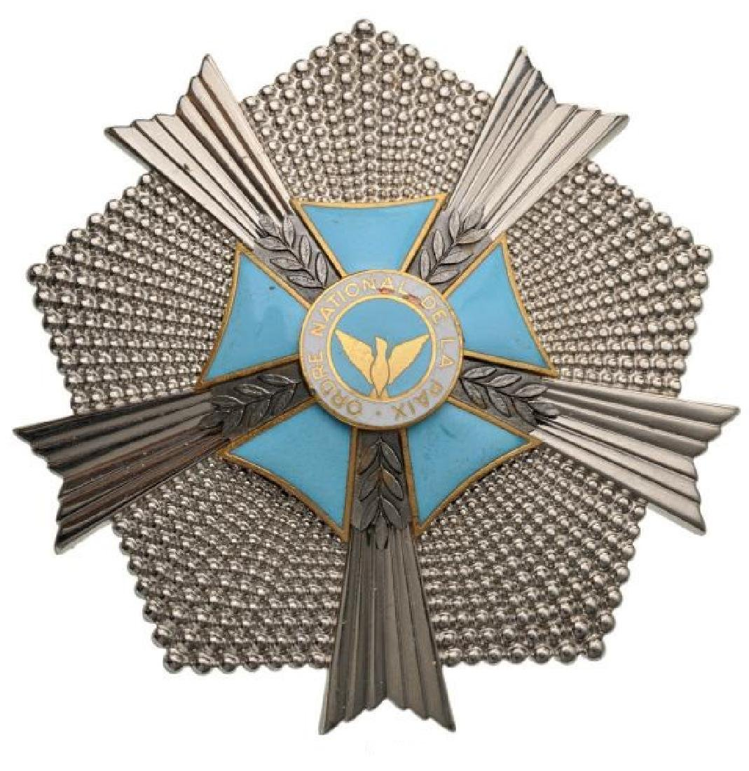 NATIONAL ORDER OF PEACE