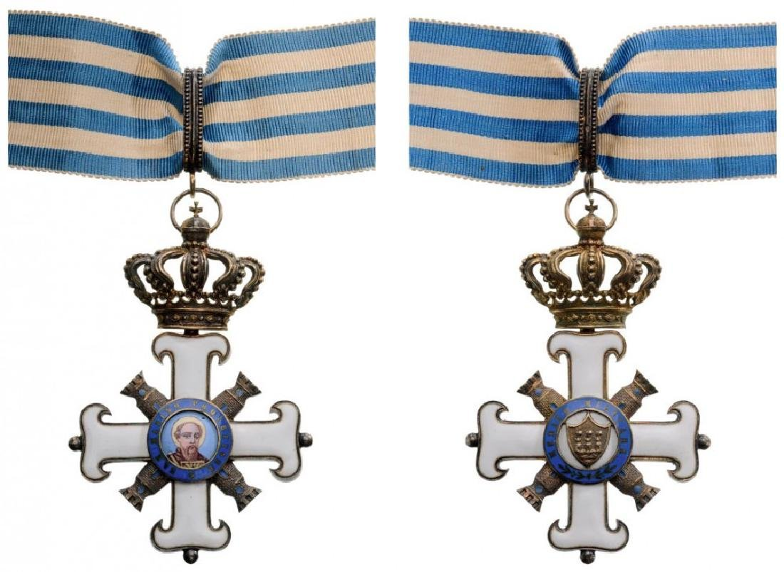 EQUESTRIAN ORDER OF SAN MARINO, MILITARY DIVISION
