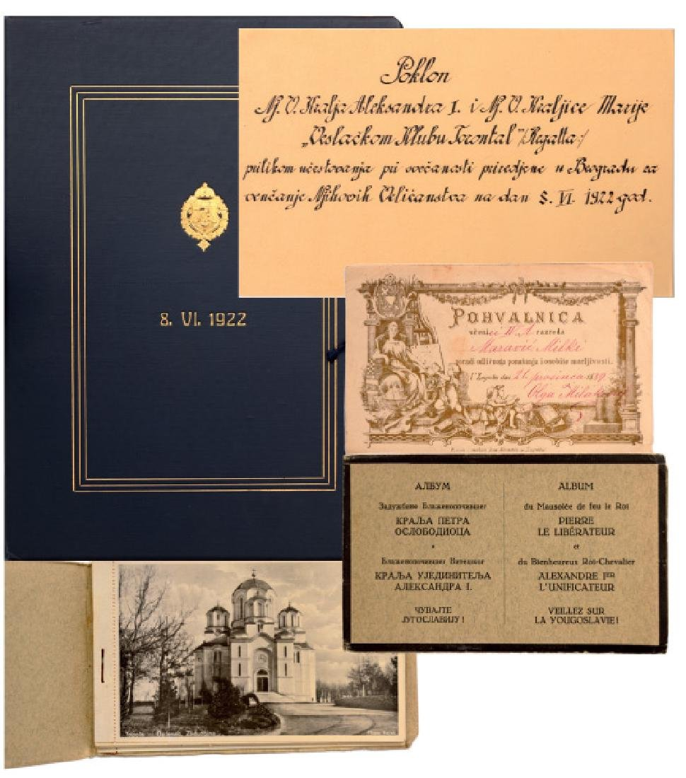 Portfolio of the wedding of King Alexander I with