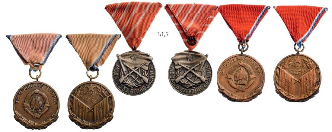 Lot of 3 Medals