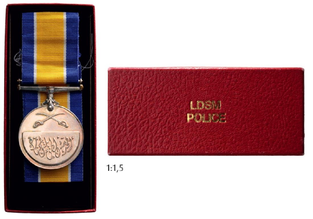 Police Long and Distinguished Service Medal