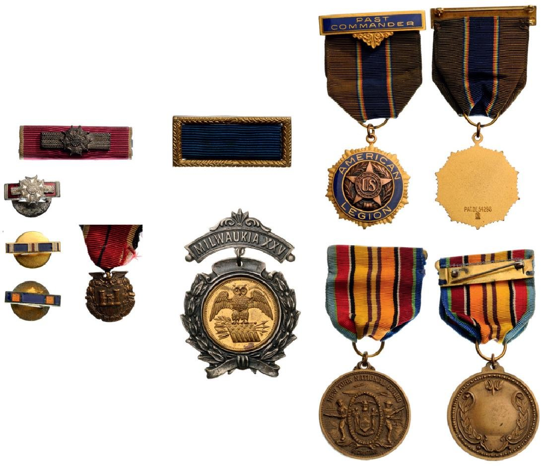 Small Group of an Army Veteran
