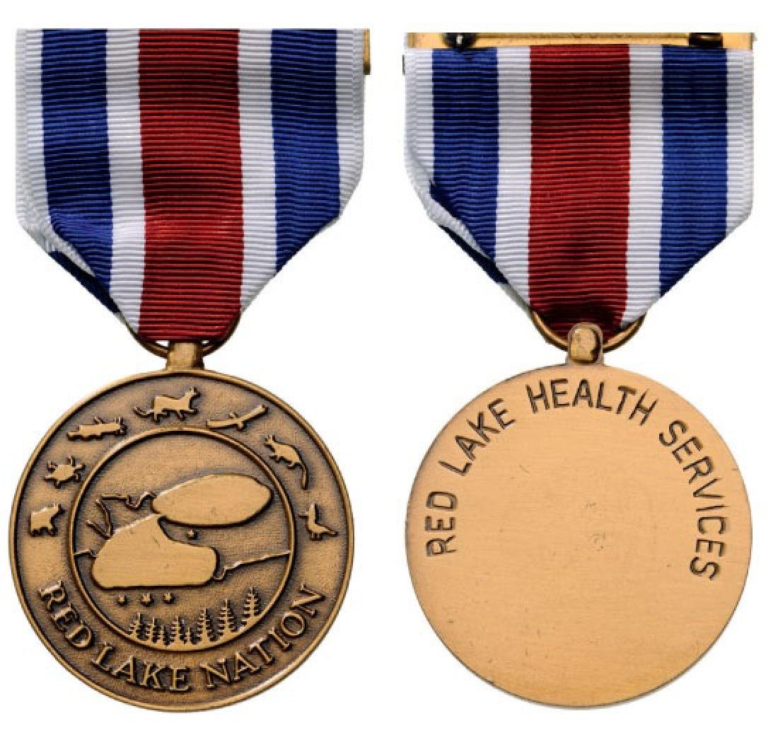 MEDAL OF PUBLIC HEALTH, RED LAKE NATION