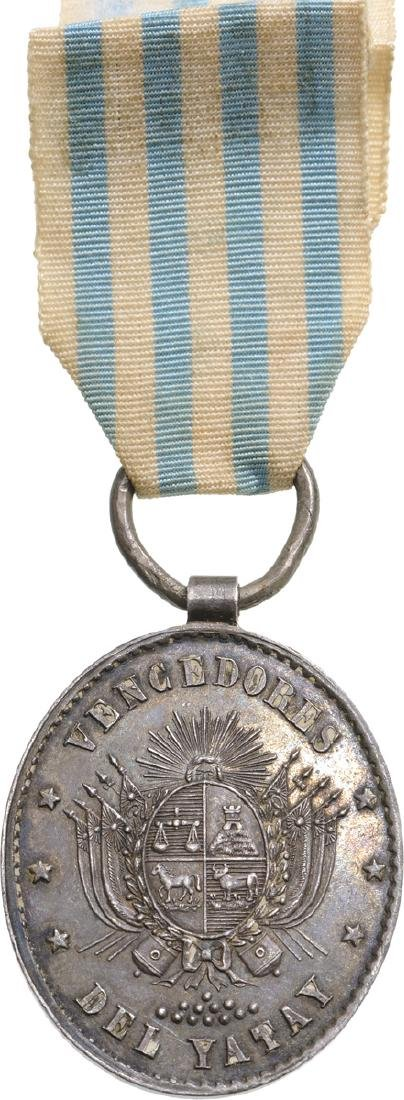 Rare Commemorative Medal of the Battle of Yatay for
