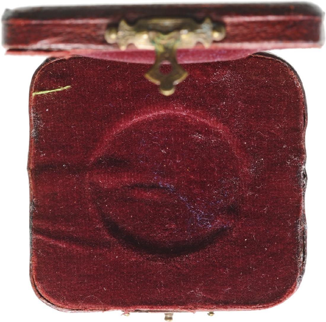 Box of issue for a Medal given by Pope Leo XIII - 2
