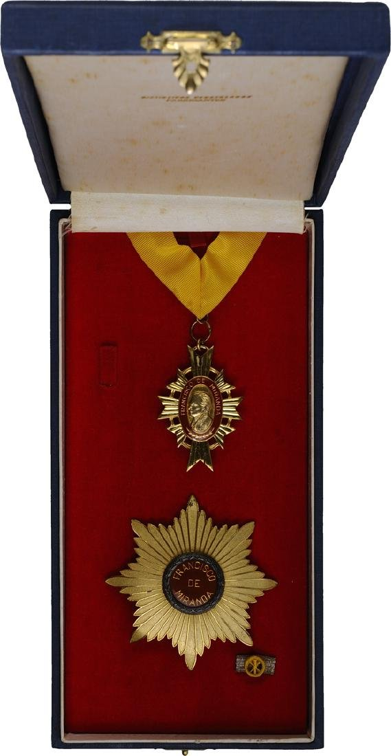 Order of ORDER OF FRANCISCO DE MIRANDA