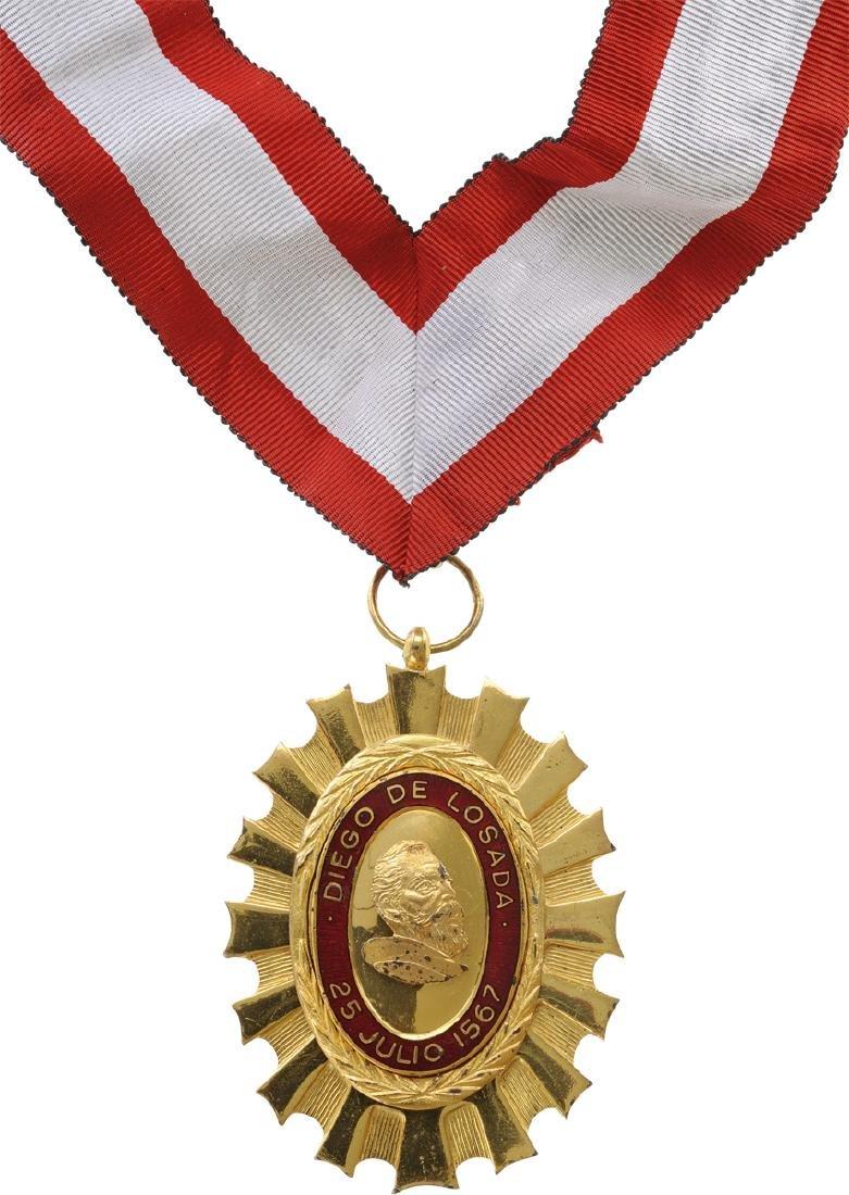 Order of Diego de Losada - 4