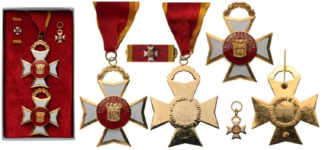 CROSSED OF THE ARMED FORCES OF COOPERATION (National