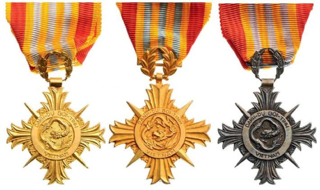 Lot of 3 Armed Forces Honor Medals