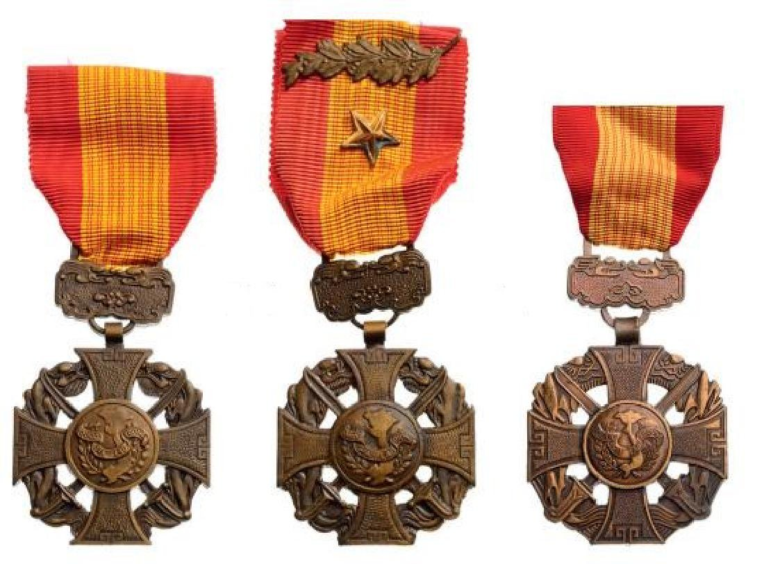 Bravery Crosses, instituted 1950