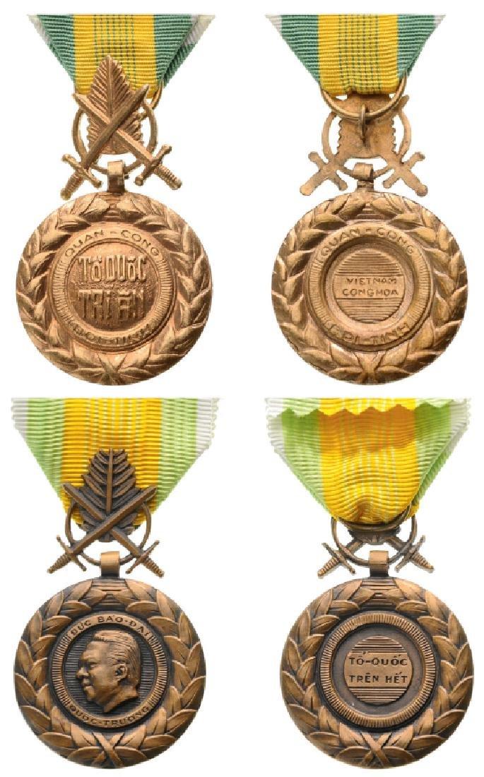 Military Merit Medals, instituted in 1950