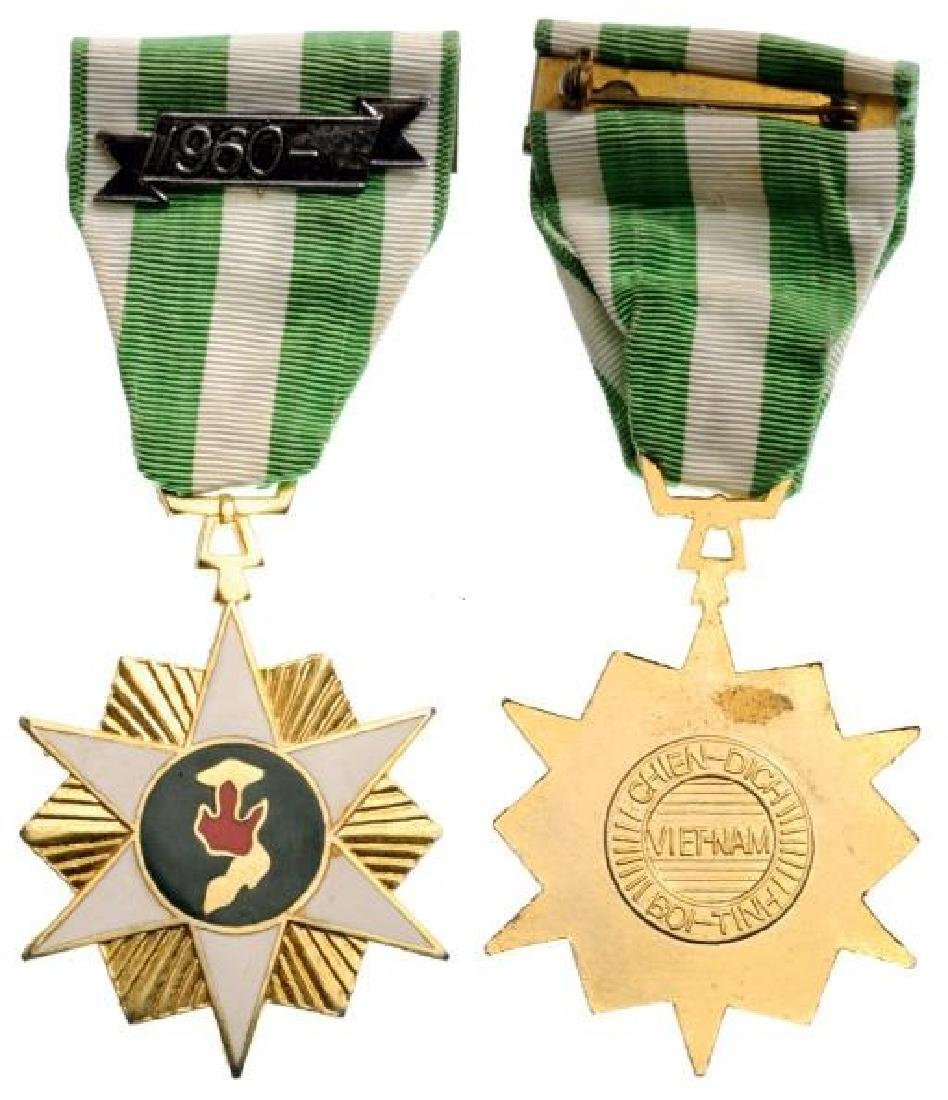 "Campaign Medal with Clasp ""1960"", instituted in 1966"