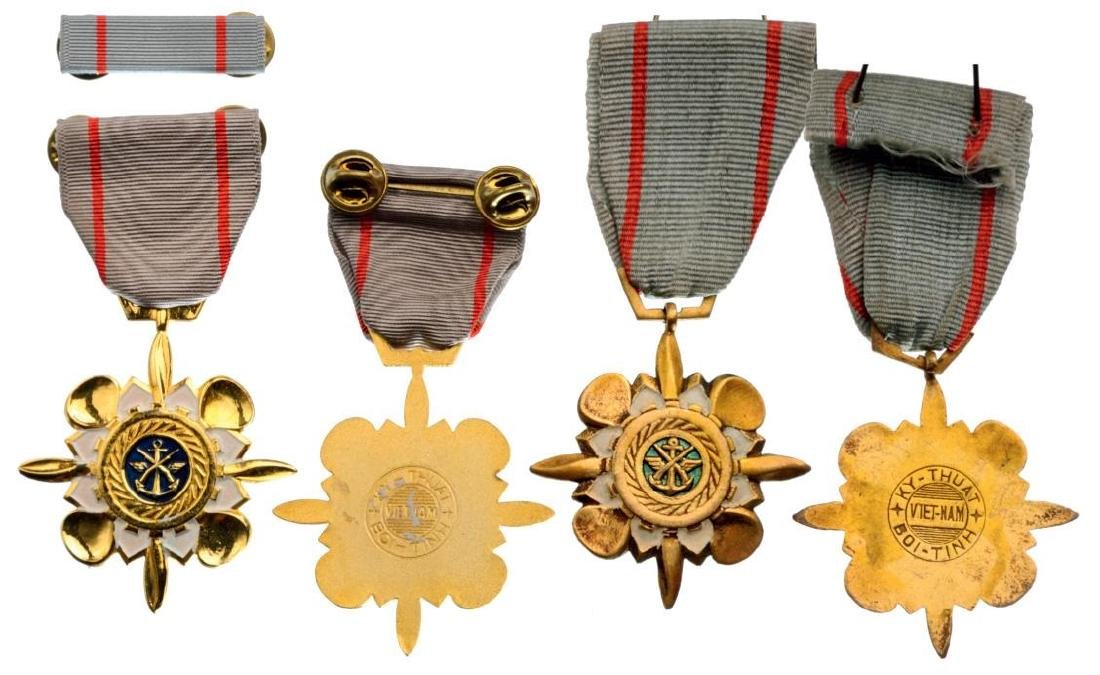 Lot of 2 Technical Service Medals